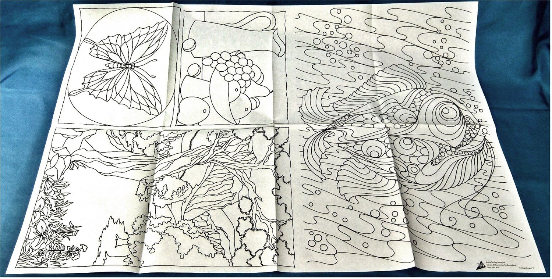 Seidenmalerei - Teil 1. - 22 Vorlagen, Farbdrucke Und Arbeitsanleitung mit Seidenmalerei Motive