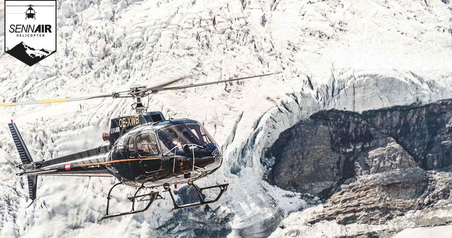Sennair Helikopter Österreich - Per Heli Zum Puren Glücksgefühl für Hubschrauber Rundflug Salzburg