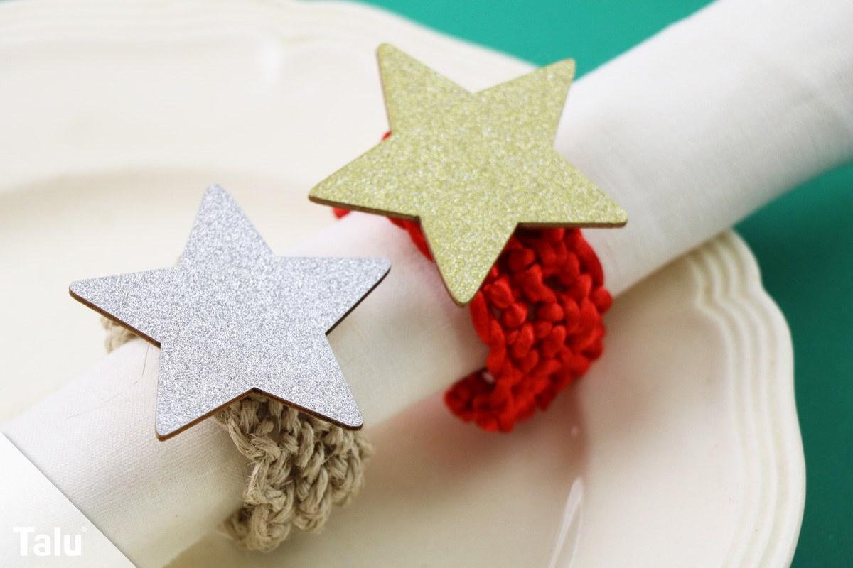 Serviettenringe Basteln Für Jeden Anlass - 6 Ideen Zum verwandt mit Serviettenringe Selber Machen Weihnachten