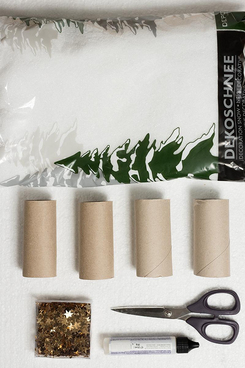 Serviettenringe Diy Low Budget Idee Für Weihnachten ganzes Serviettenringe Selber Machen Weihnachten