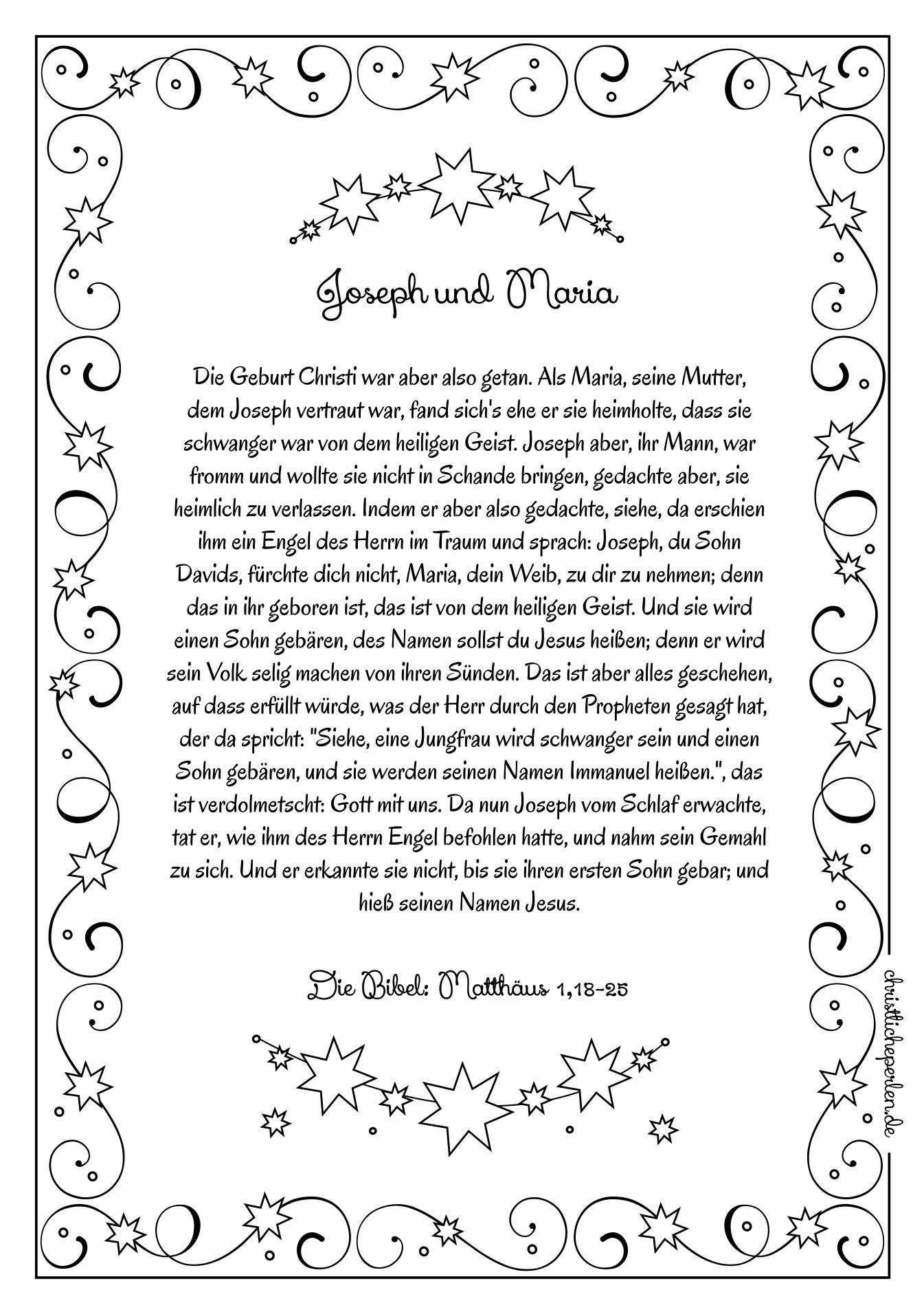 Simeon Und Hanna | Christliche Perlen bestimmt für Weihnachtsgeschichte Bibel Für Kindergartenkinder