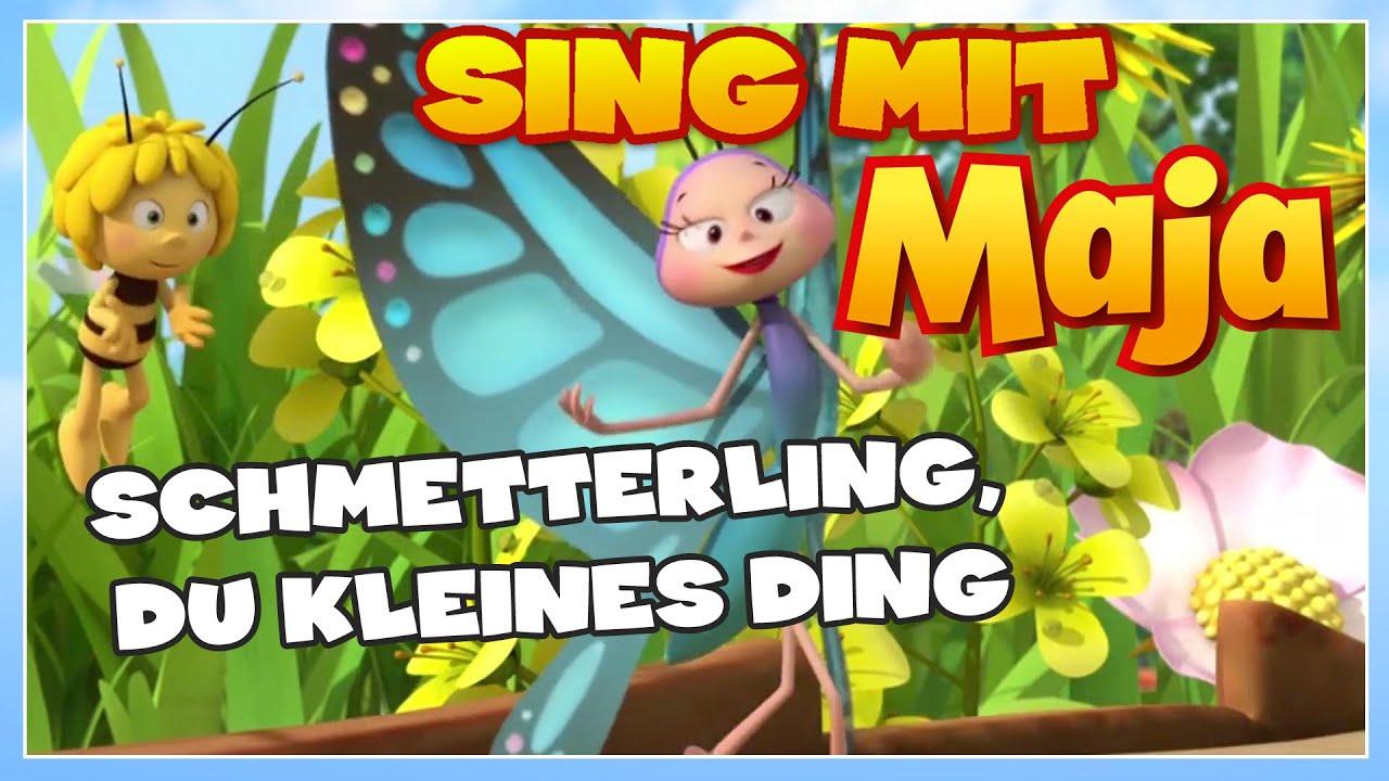 Sing Mit Der Biene Maja! ✿ Schmetterling, Du Kleines Ding ✿ über Schmetterling Du Kleines Ding Such Dir Eine Tänzerin