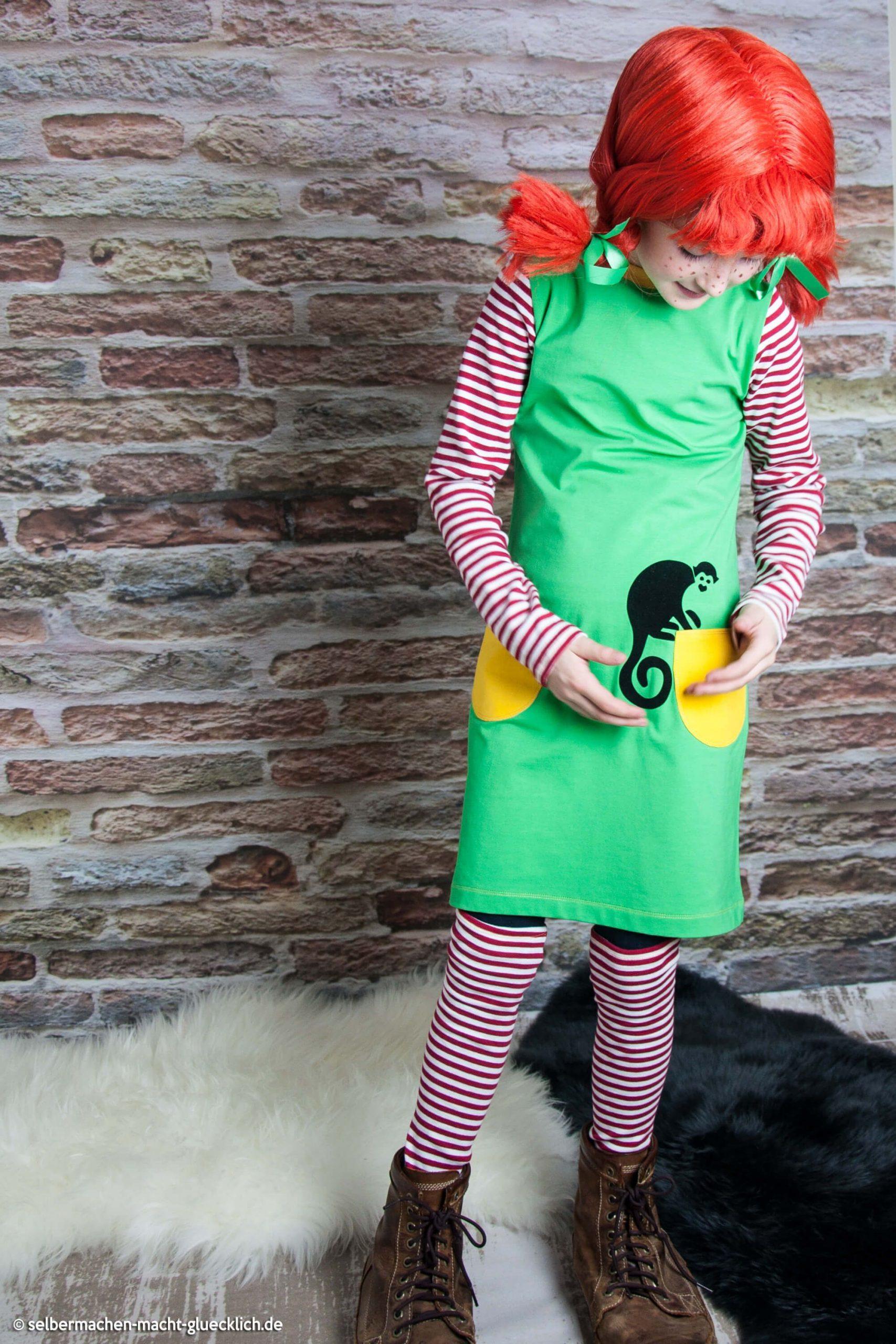 So Nähst Du Ein Pippi Langstrumpf Kostüm Einfach Selber verwandt mit Pippi Langstrumpf Kostüm Selber Nähen