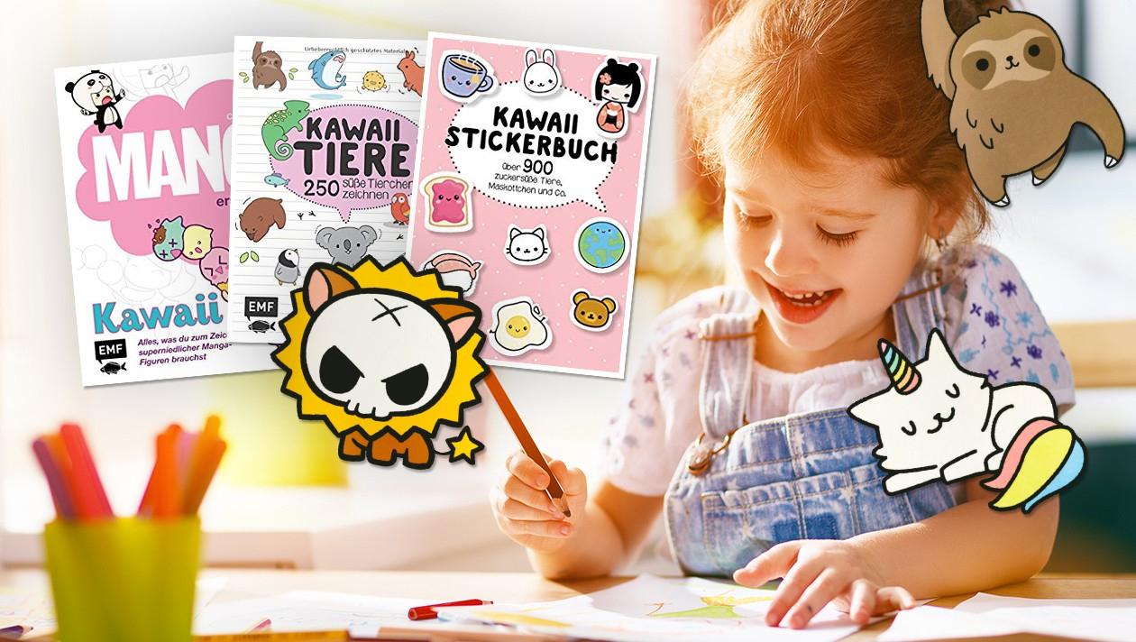 So Zeichnen Sie Die Zuckersüßen Kawaii-Tiere! | Krone.at in Manga Tiere
