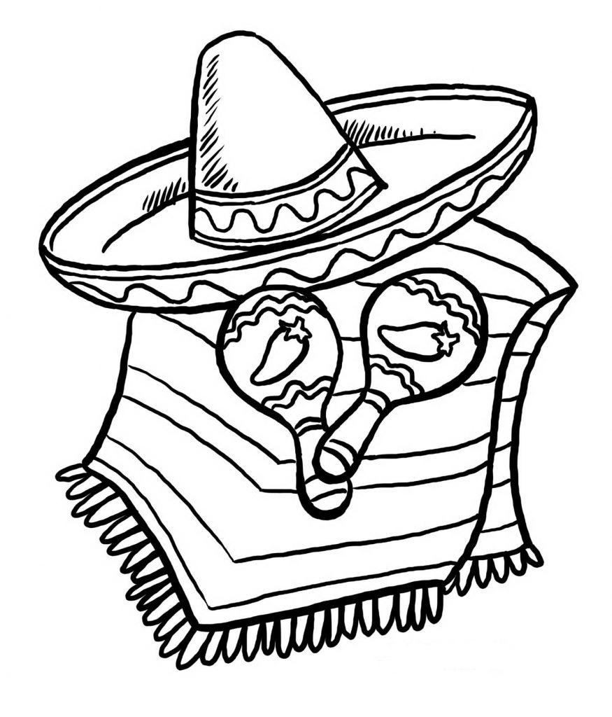 Sombrero 3 Gratis Malvorlage In Diverse Malvorlagen innen Dinotrux Malvorlage