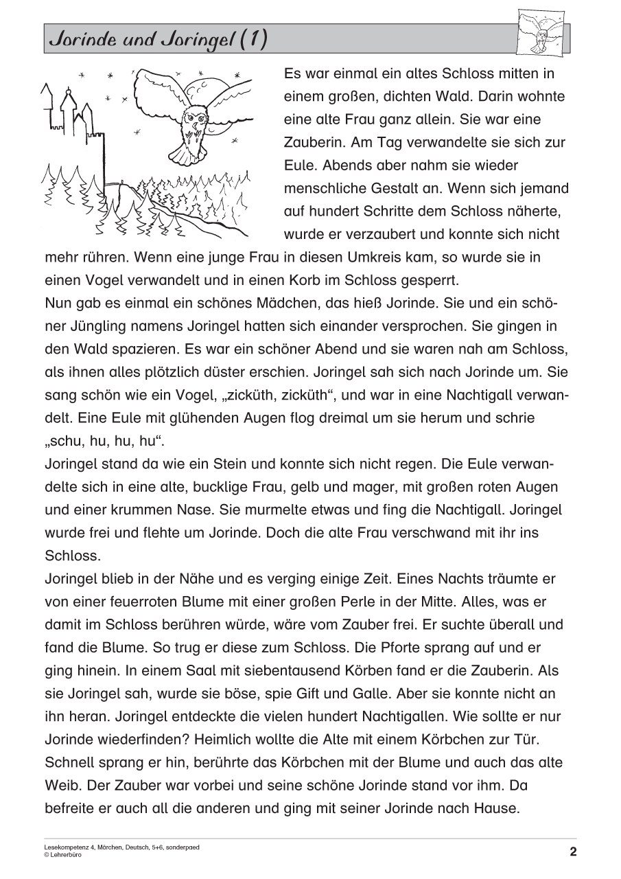 Sopäd Unterrichtsmaterial Deutsch Lesen Und Textverständnis bei Lesekompetenz 4 Klasse Arbeitsblätter Kostenlos