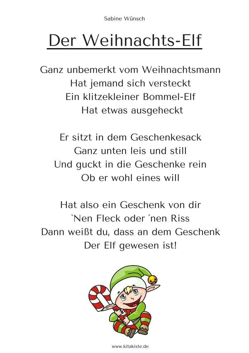 Spektakulär Weihnachtsgedicht Kurz Kindergarten Aufenthalt in Weihnachtsgedichte Für Kindergarten