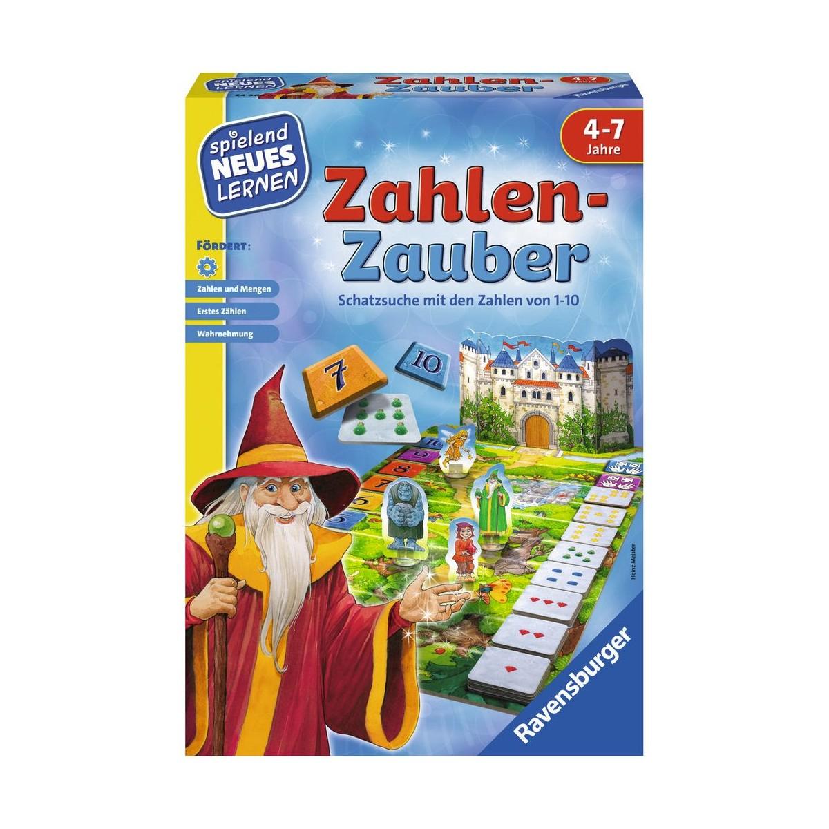 Spielwaren Krömer - Ravensburger Spiel - Zahlen-Zauber - Ean: 4005556249640 für Zahlen Lernen Spiel