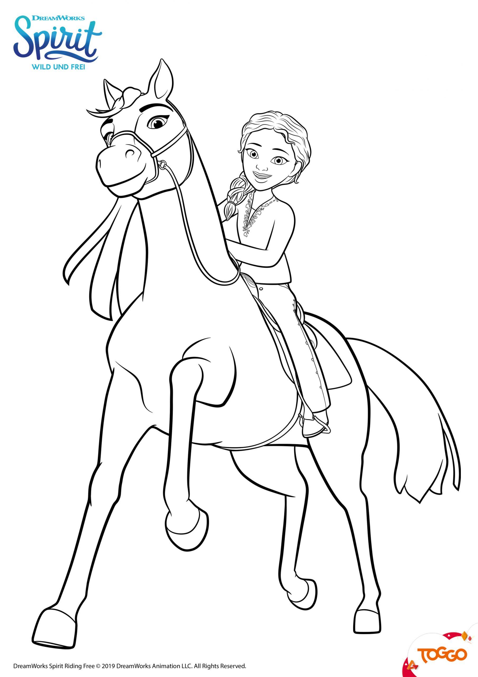 spirit ausmalbilder | mytoys-blog bestimmt für pferde