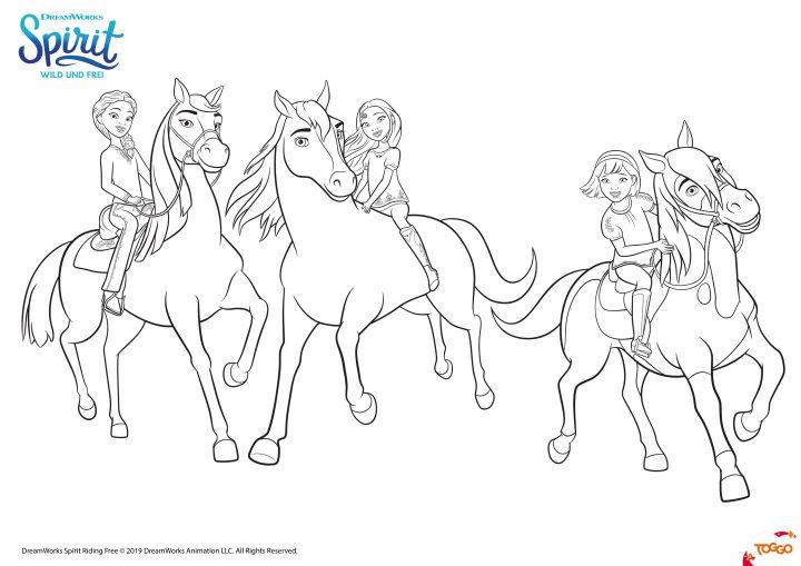 spirit ausmalbilder  mytoysblog in pferde ausmalbilder