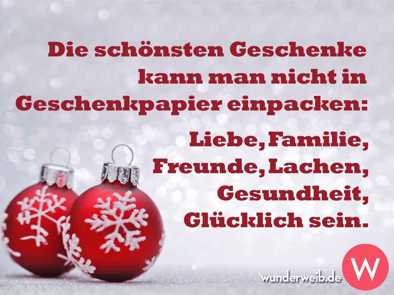 Sprüche Zu Weihnachten: Lustig, Schön Und Besinnlich mit Schöne Weihnachtssprüche Für Die Familie