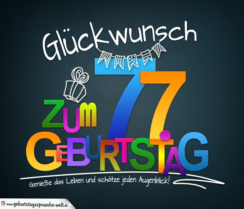 Spruche Zum 77 Geburtstag Lustig – Beste Geschenke Für Die ganzes Sprüche Zum 16 Geburtstag Witzig Kurz