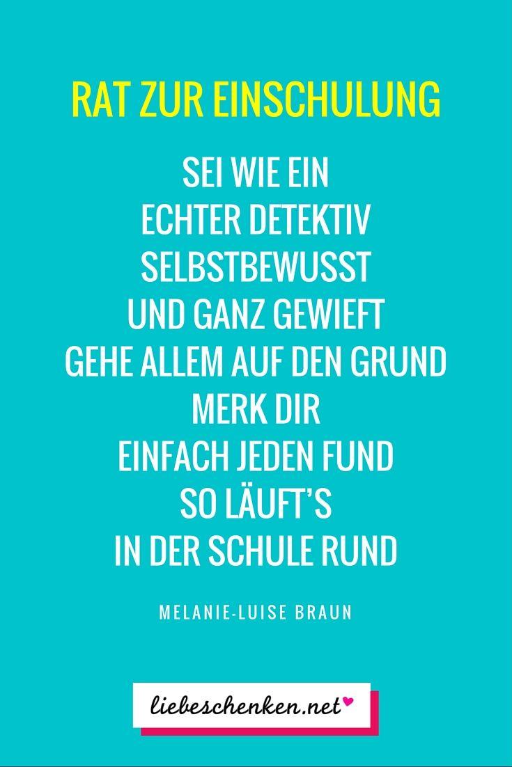 Sprüche Zur Einschulung - Glückwünsche & Gedichte Zum ganzes Wünsche Zur Einschulung Grundschule