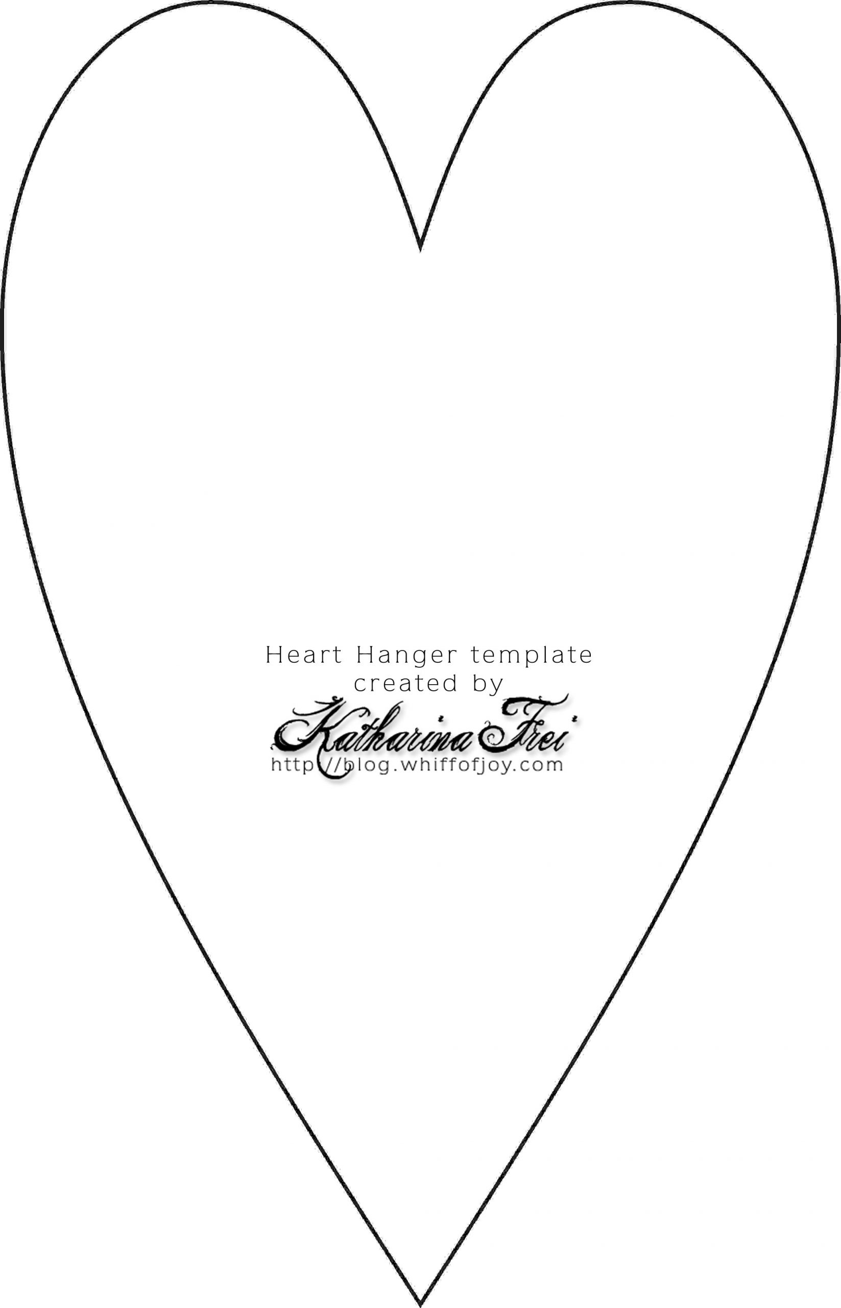 Stamping & More Video–Decorative Heart Hanger Plus Free über Herz Vorlagen Zum Ausdrucken