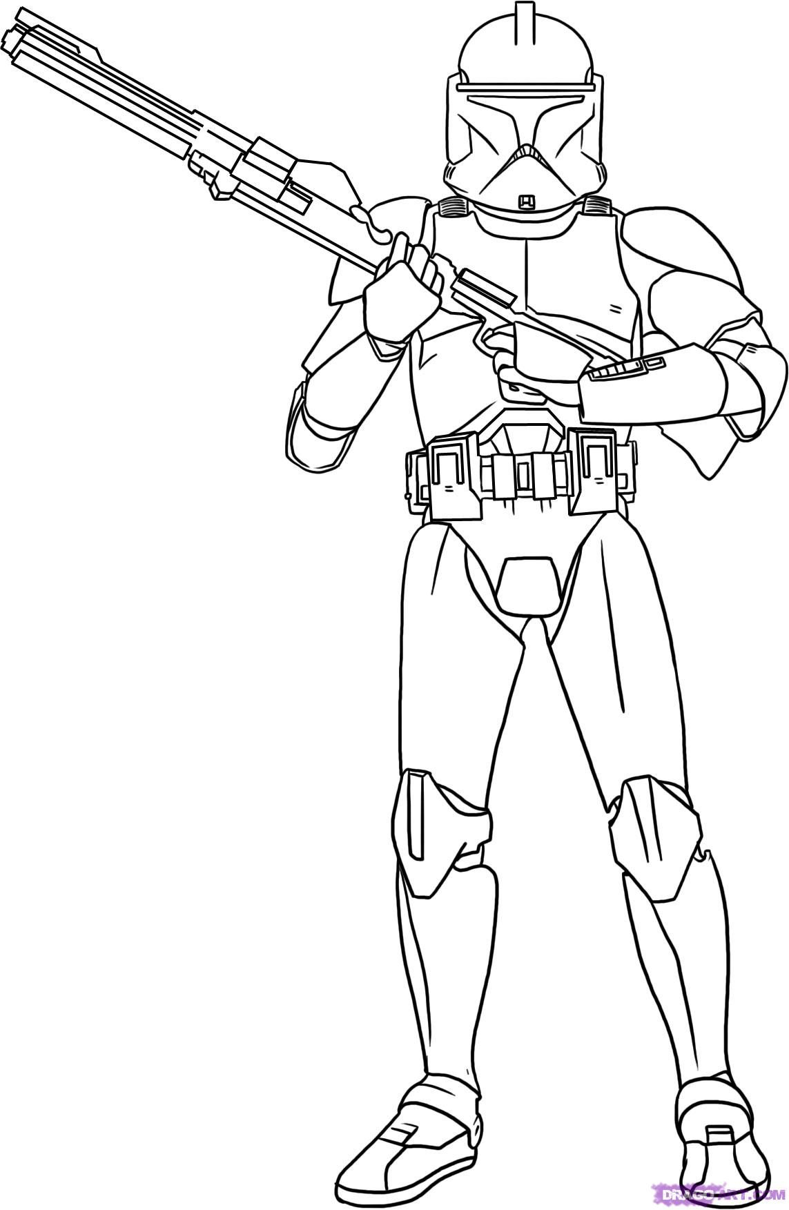 Star Wars Coloring Pages - Free Printable Star Wars Coloring innen Star Wars Ausmalbilder Gratis