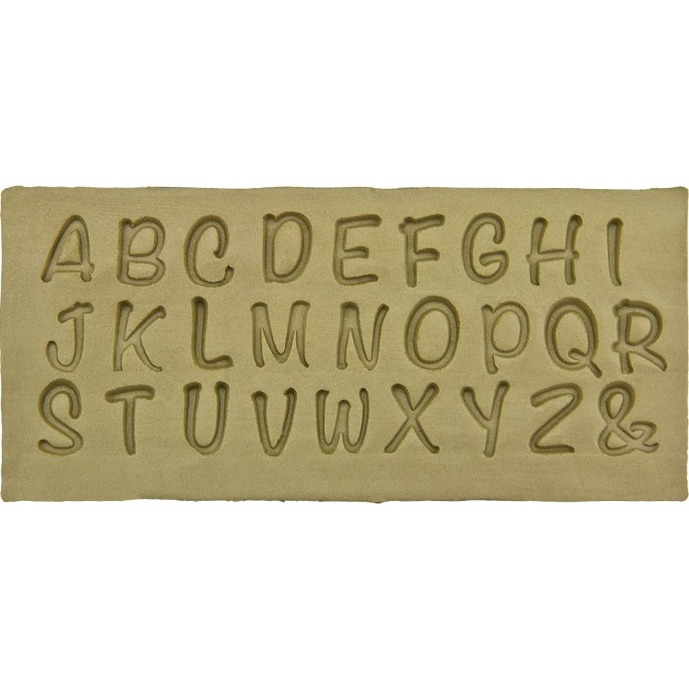 """Stempel Ssg-P - Holz, Buchstabe """"p"""", Schreibschrift mit Schreibschrift P"""
