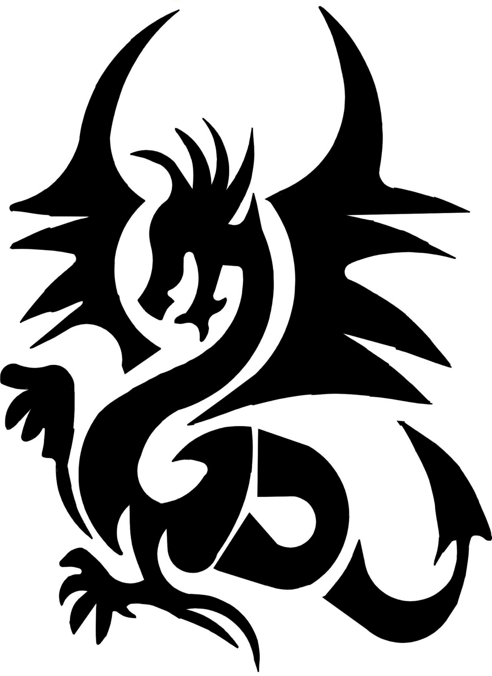 Stencil Drache | Henna Tattoo Stencils, Airbrush Art, Tattoo über Airbrush Schablonen Ausdrucken