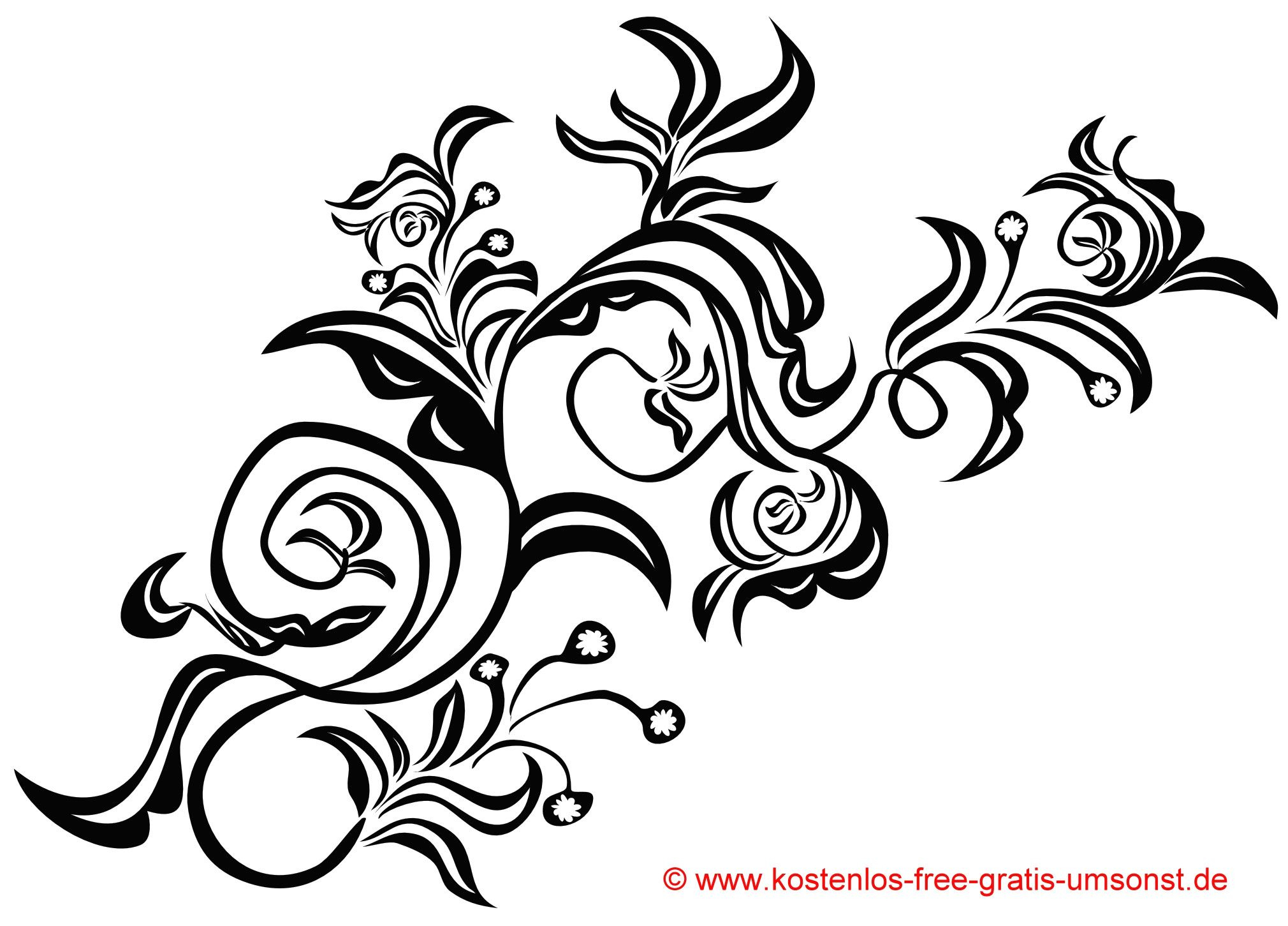 Stern Tattoo Vorlagen Kostenlos Mit Blumen Vorlage Flowers für Sterne Tattoo Vorlagen Kostenlos
