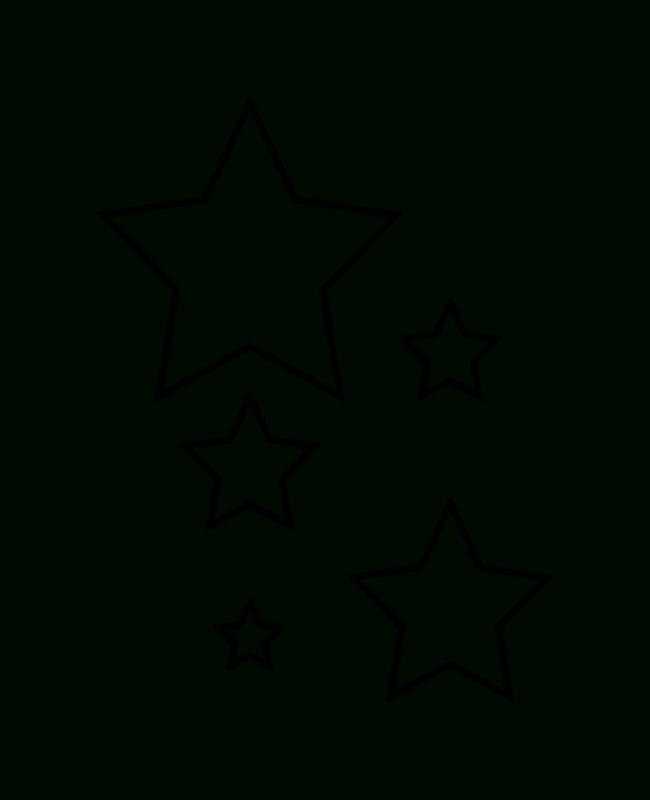Stern Vorlage Ausschneiden | Stern Schablone, Sterne Basteln in Malvorlage Stern Groß