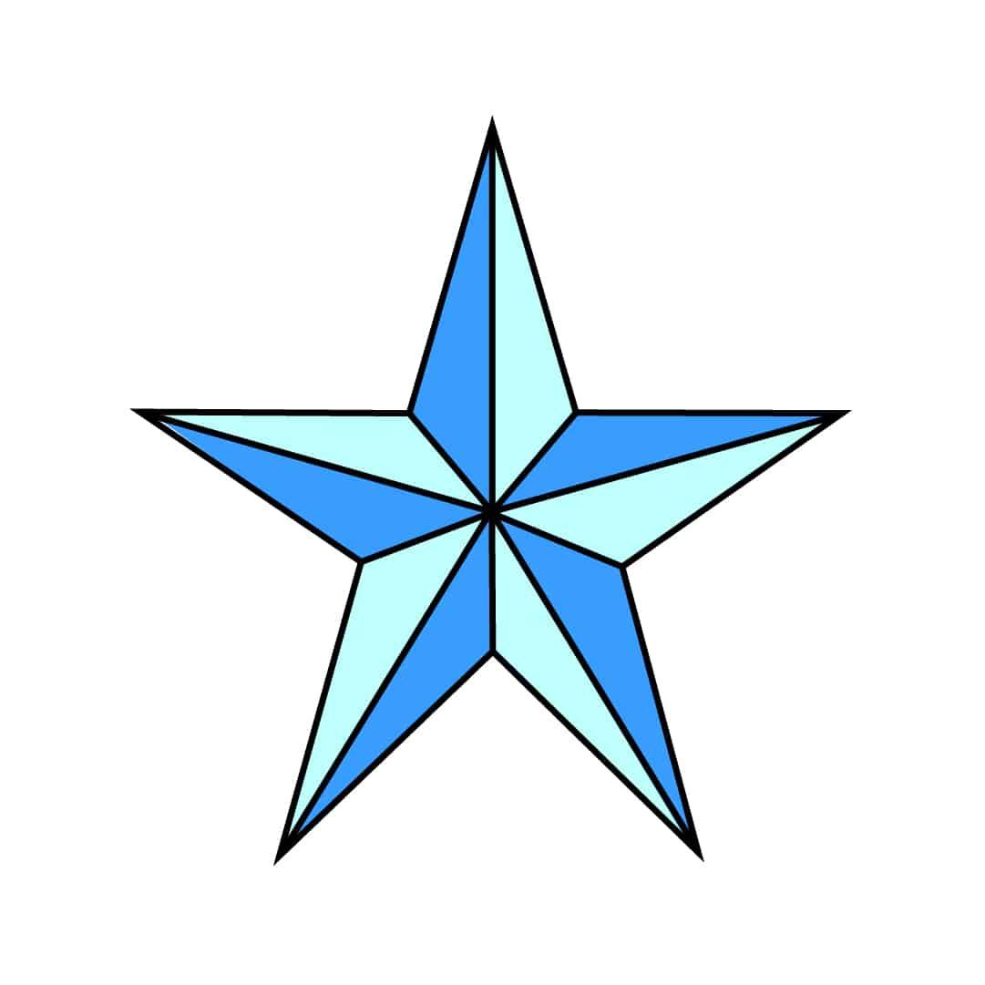 Stern Zeichnen Lernen - Die Beste Schritt-Für-Schritt-Anleitung für Wie Zeichnet Man Einen Stern Mit 5 Spitzen