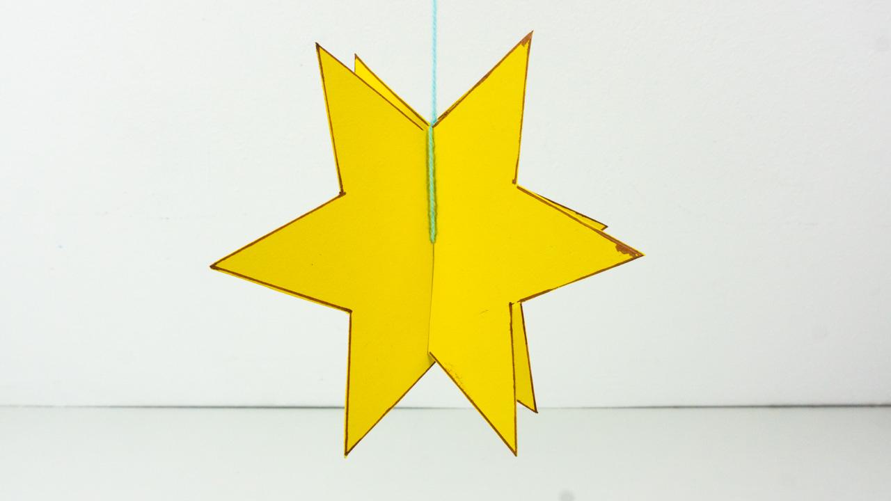 Sterne Basteln Mit Kindern - 3D Stern Basteln - Inkl bestimmt für Sterne Basteln Mit Krippenkindern