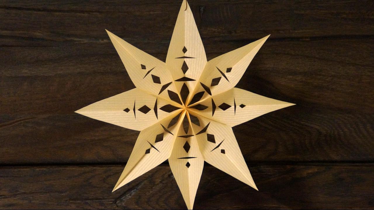 Sterne Basteln Zu Weihnachten bei Weihnachts Sterne Basteln