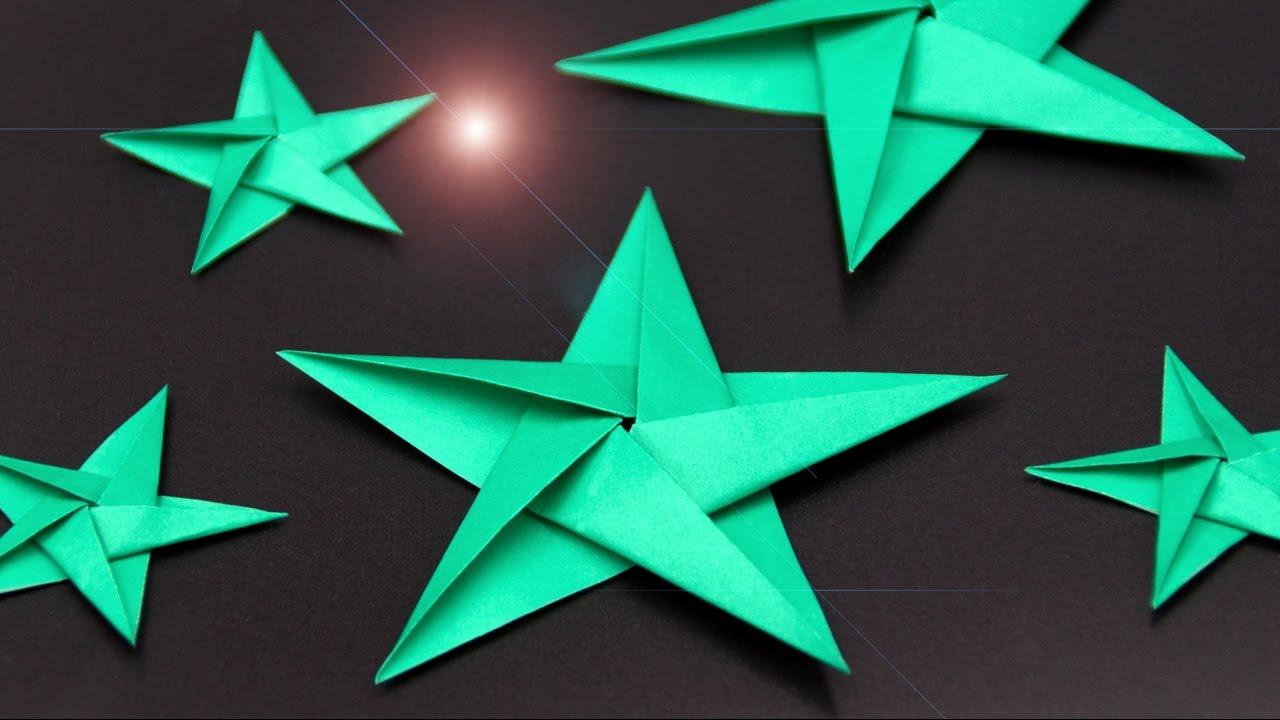 Sterne Basteln Zu Weihnachten: Schöne Origami Sterne Falten - Diy bei Sterne Basteln Anleitung Kostenlos