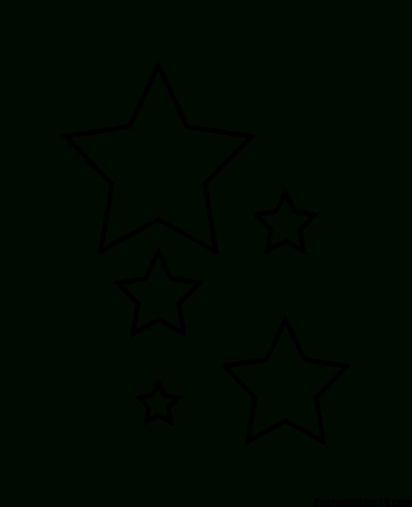 Sterne Zum Ausmalen - 1Ausmalbilder (Mit Bildern bestimmt für Stern Malvorlage Ausdrucken