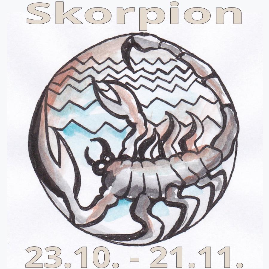 Sternzeichen Skorpion - Drang Nach Strukturierung bestimmt für Sternzeichen 21.11