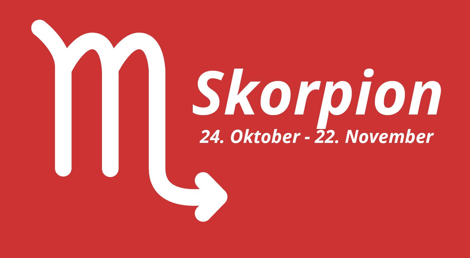 Sternzeichen Skorpion - Mann, Frau, Eigenschaften, Partner bei Sternzeichen 21.11