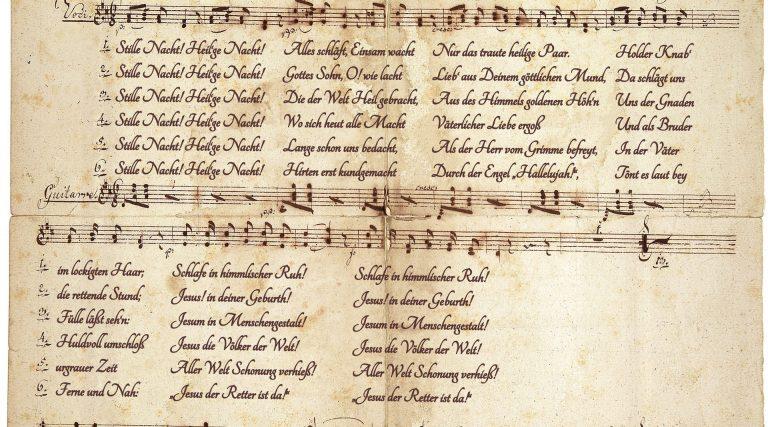 Lied Stille Nacht Heilige Nacht Text
