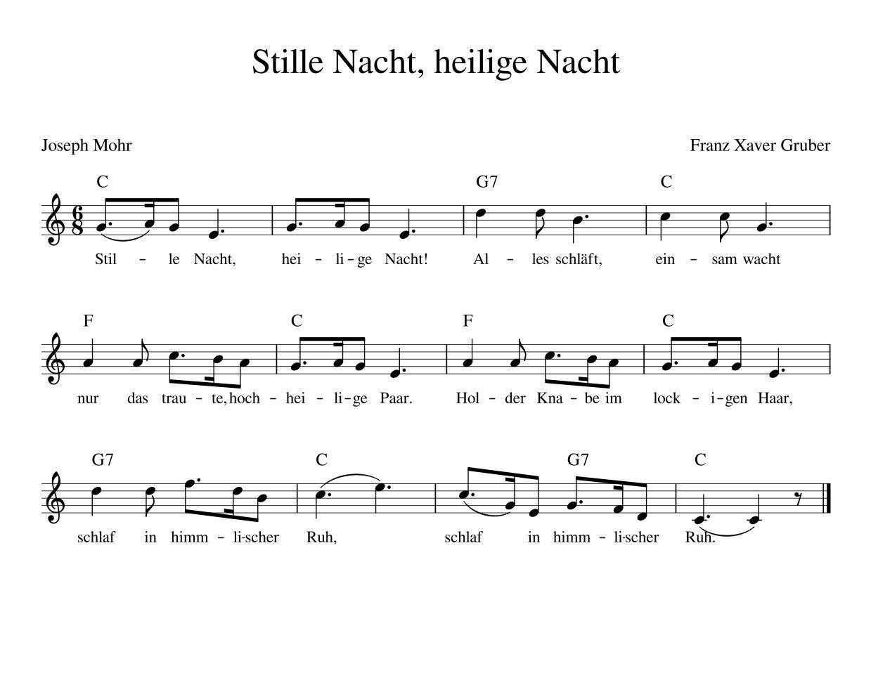 Stille Nacht, Heilige Nacht Weihnachtslied Deutsch Mit bei Deutsche Weihnachtslieder Mp3 Kostenlos
