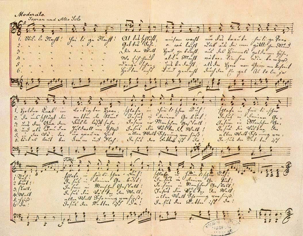 Text Stille Nacht Deutsch