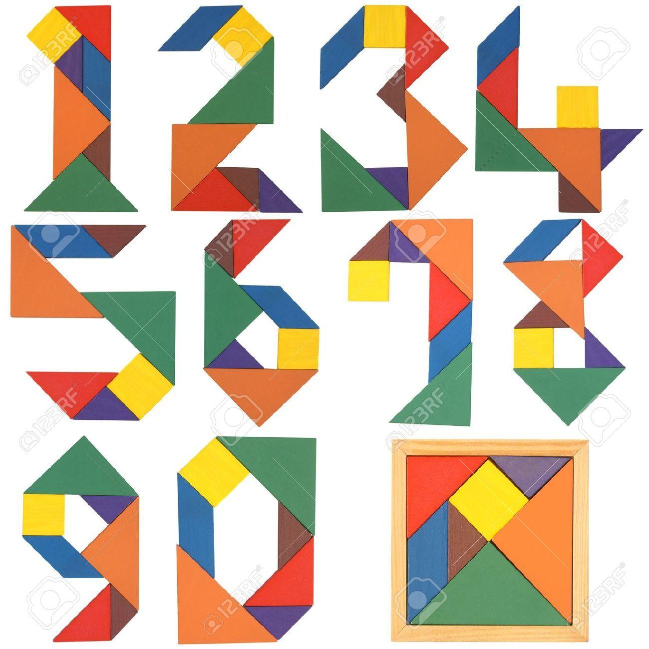 Stock Photo | Figuras Con Tangram, Tangram, Tangrama über Tangram Vorlagen