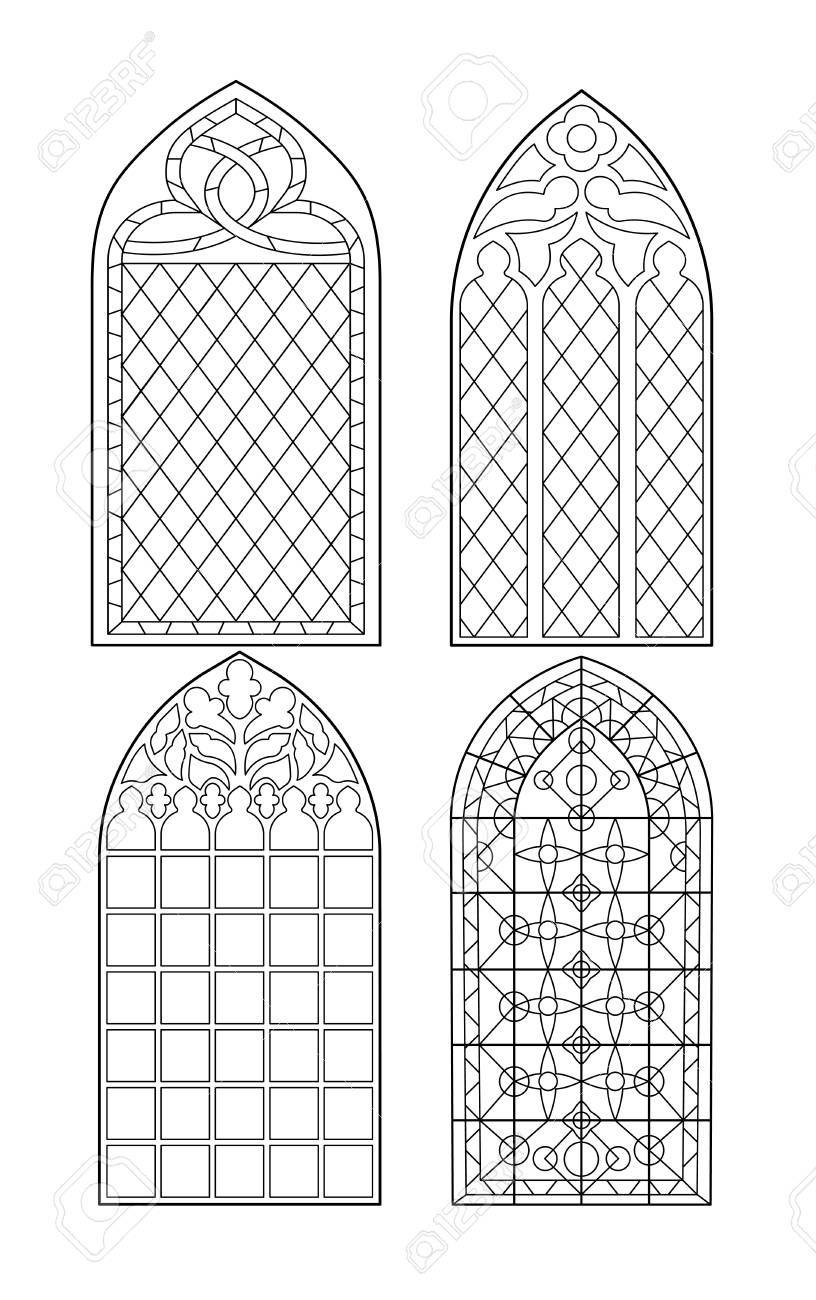 Stock Photo (Mit Bildern) | Kirchenfenster, Kunststunden innen Kirchenfenster Malvorlage