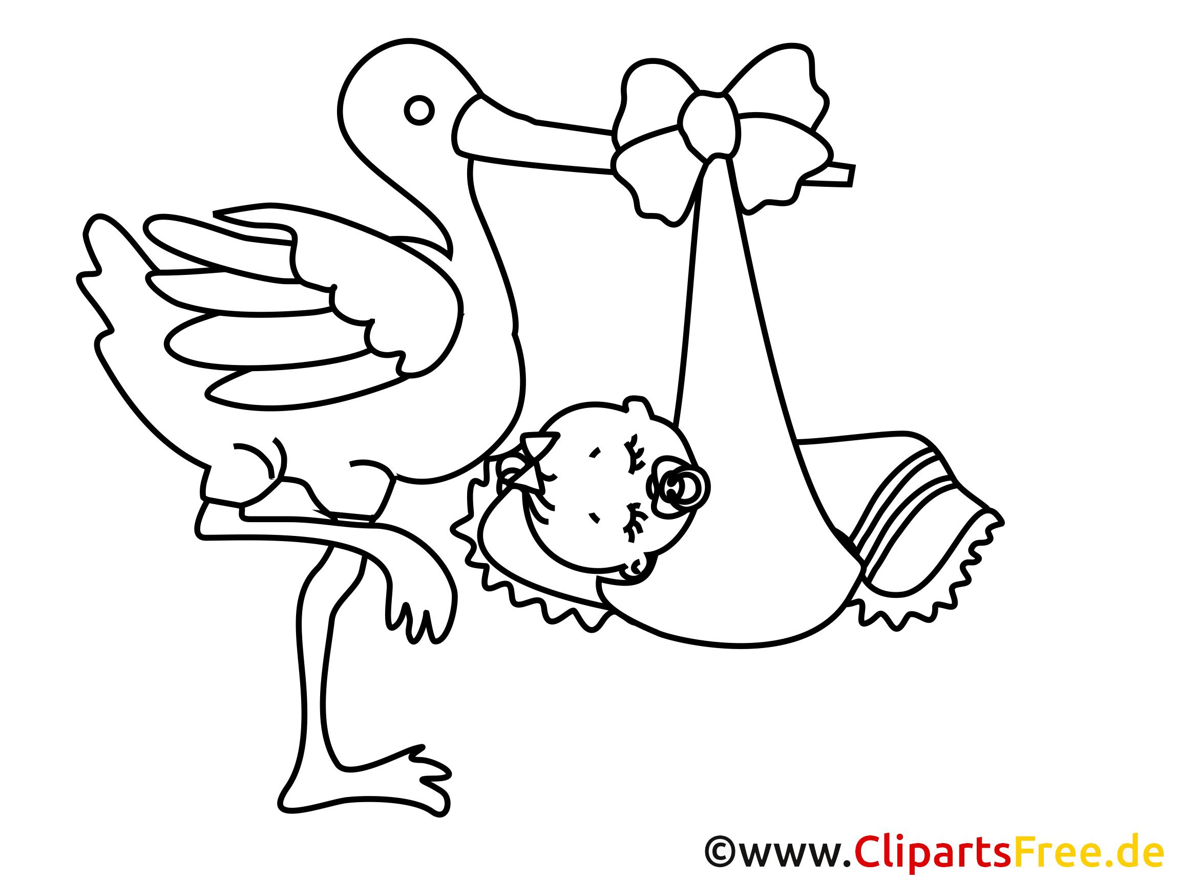 Storch Malvorlagen | Coloring And Malvorlagan über Storch Zum Ausmalen