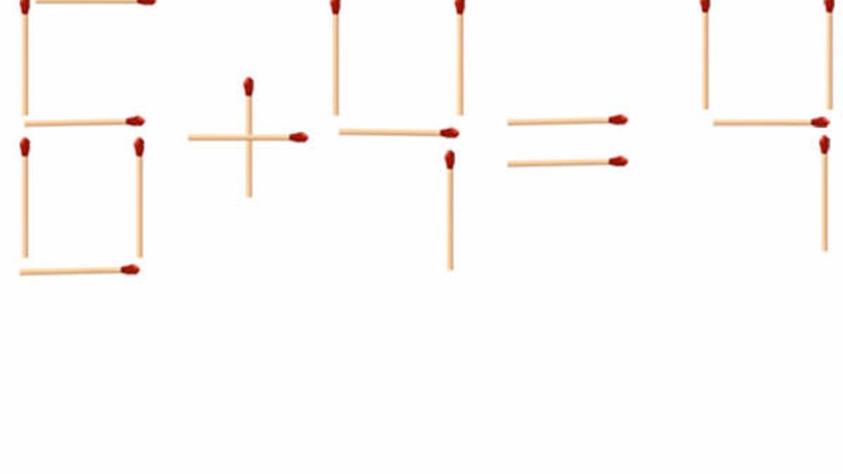 Streichholz-Rätsel - Lösung über Streichholzrätsel