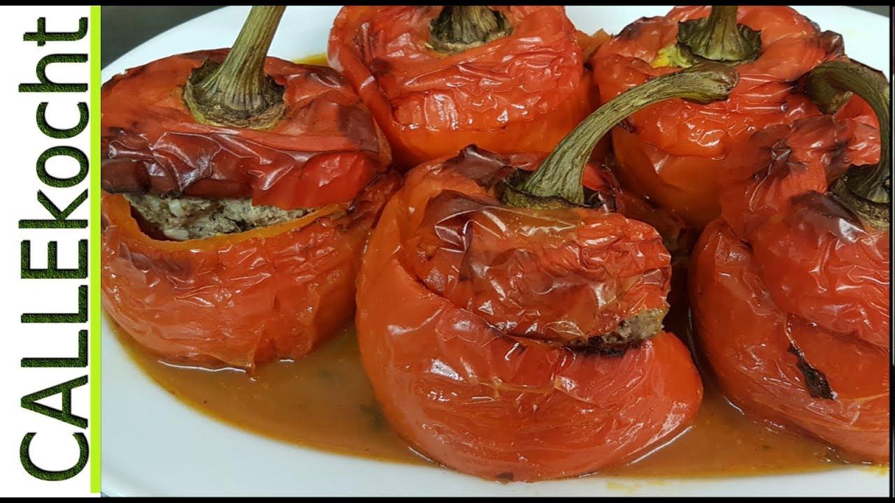 Stuffed Peppers With Minced Meat - Grandma's Recipe bei Gefüllte Paprika Mit Hackfleisch Einfach