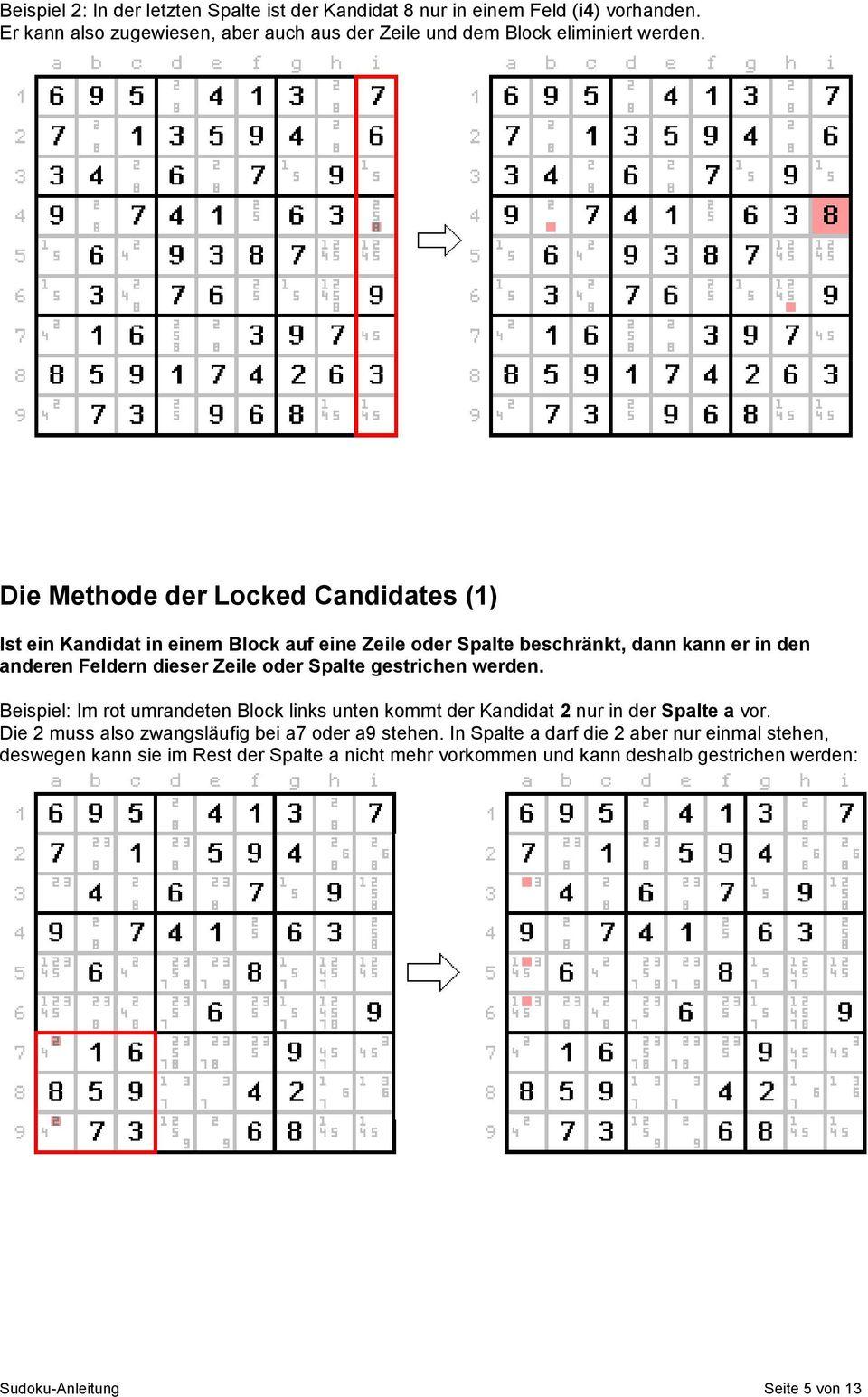 Sudoku-Anleitung. Ein Sudoku Ist Ein Quadratisches Raster innen Sudoku Anleitung
