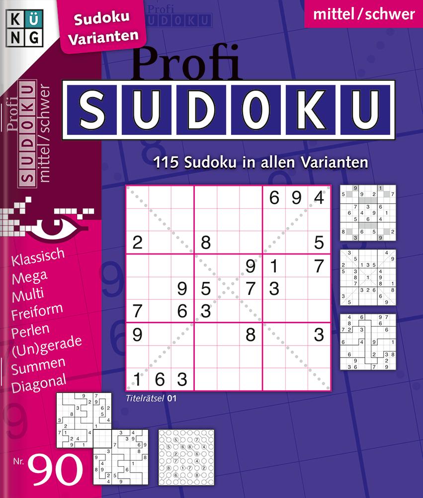 Sudoku | Küng Verlag verwandt mit Sudoku Zum Ausdrucken Sehr Schwer