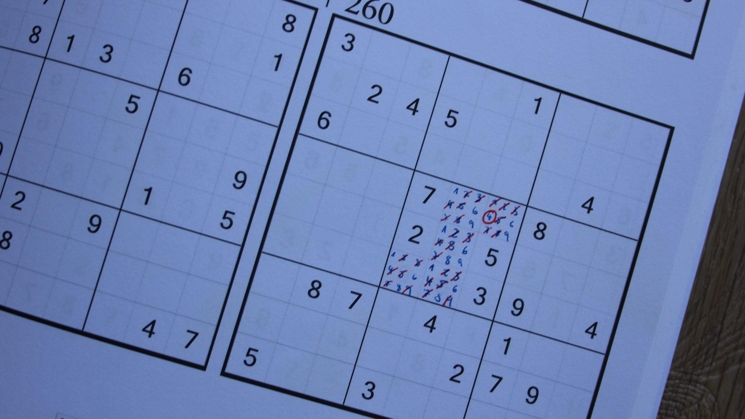 Sudoku Lösen: Die 5 Besten Strategien | Focus.de ganzes Sudoku Anleitung