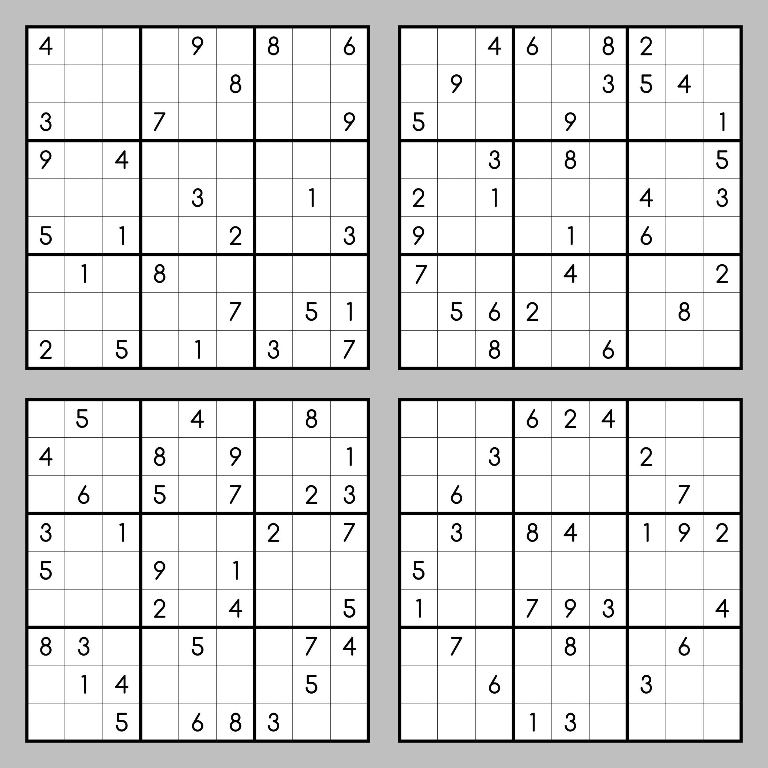 Sudoku Online Lösen Mit Dem Sudoku Solver ganzes Sudoku Kostenlos Ausdrucken
