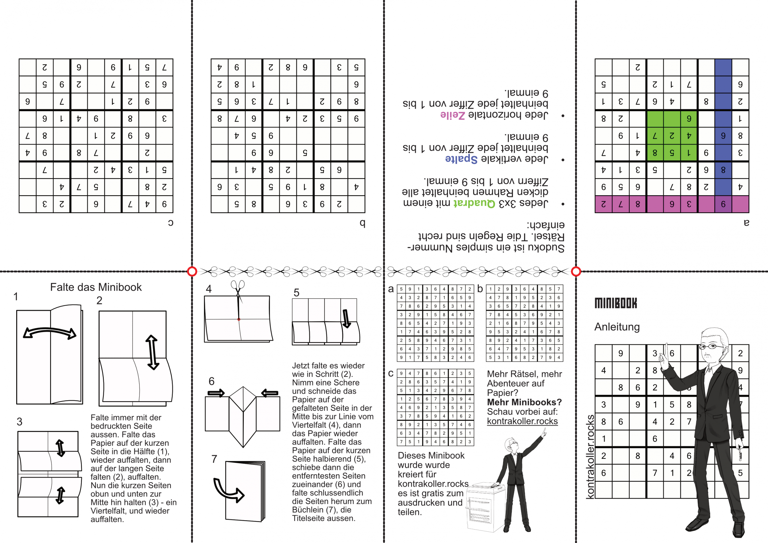 Sudoku Rätsel - Kontra Koller Rocks über Sudoku Anleitung