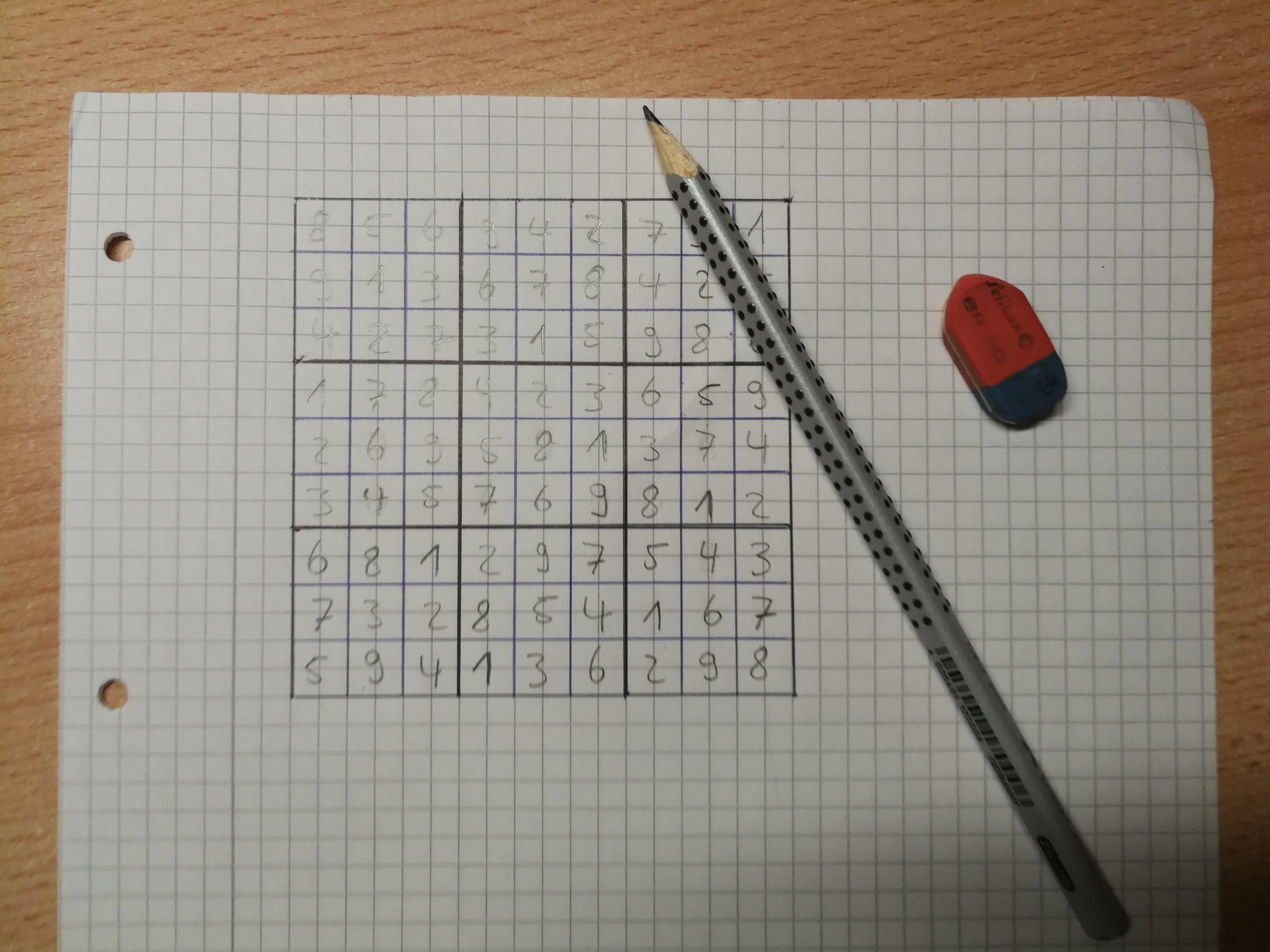 Sudoku Selber Erstellen: Zahlenrätsel Von Hand & Mit Dem Pc für Sudoku Selber Machen