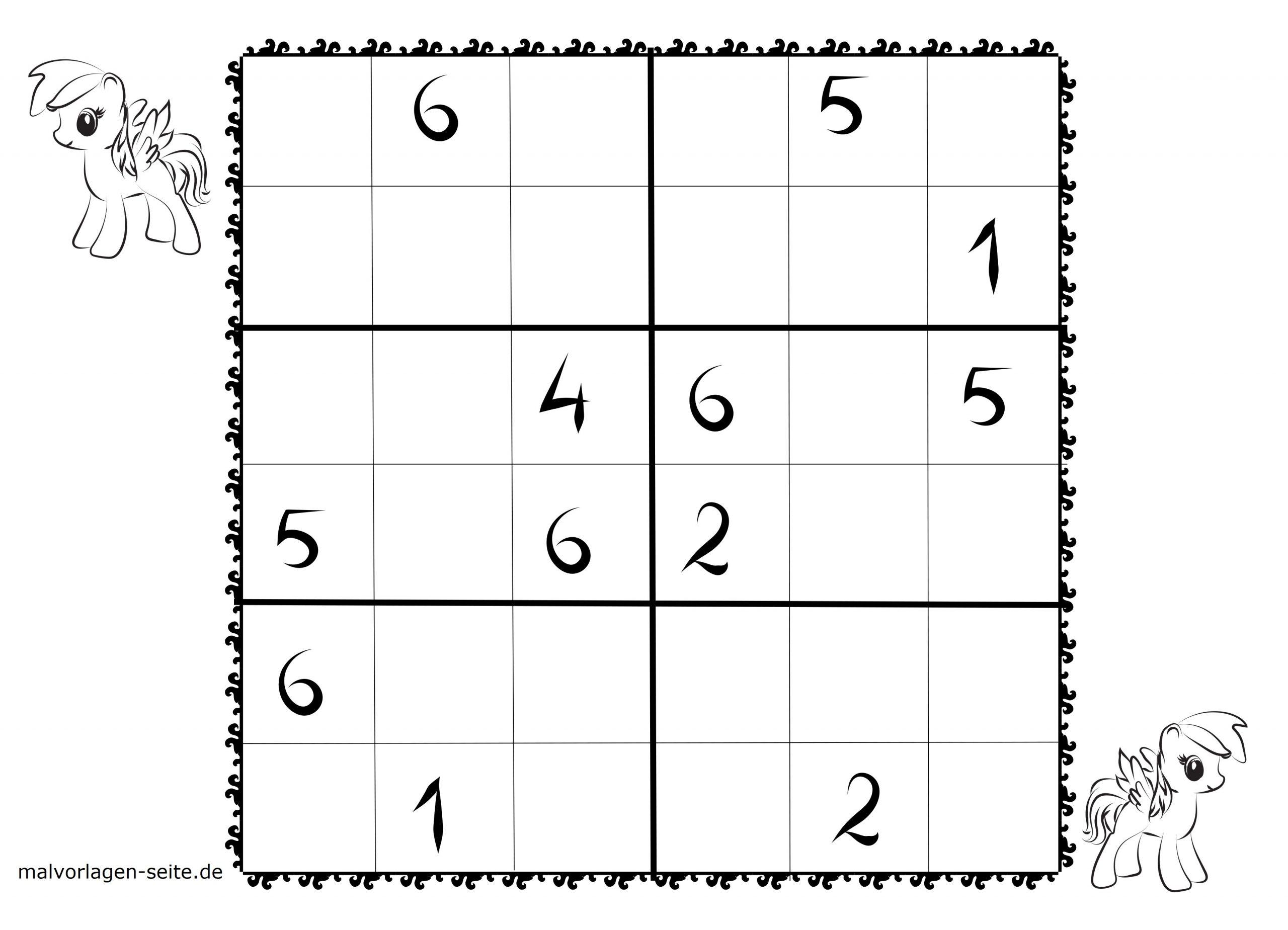 Sudoku Vorlagen Für Kinder 6X6 Kostenlos Herunterladen Und ganzes Sudoku Zum Ausdrucken Sehr Schwer