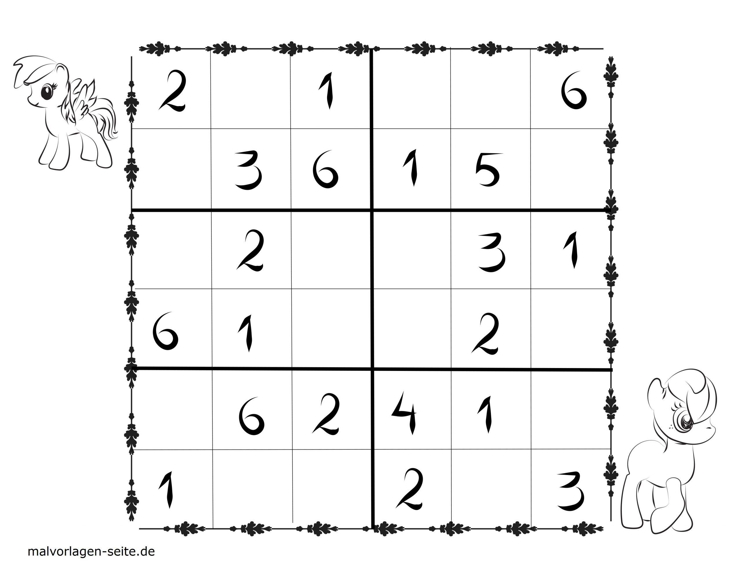Sudoku Vorlagen Für Kinder 6X6 Kostenlos Herunterladen Und mit Sudoku Kostenlos Drucken Schwer