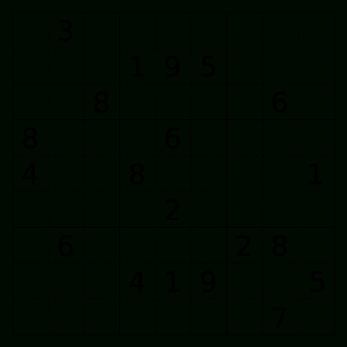 Sudoku – Wikipedia mit Sudoku Kostenlos Drucken Schwer