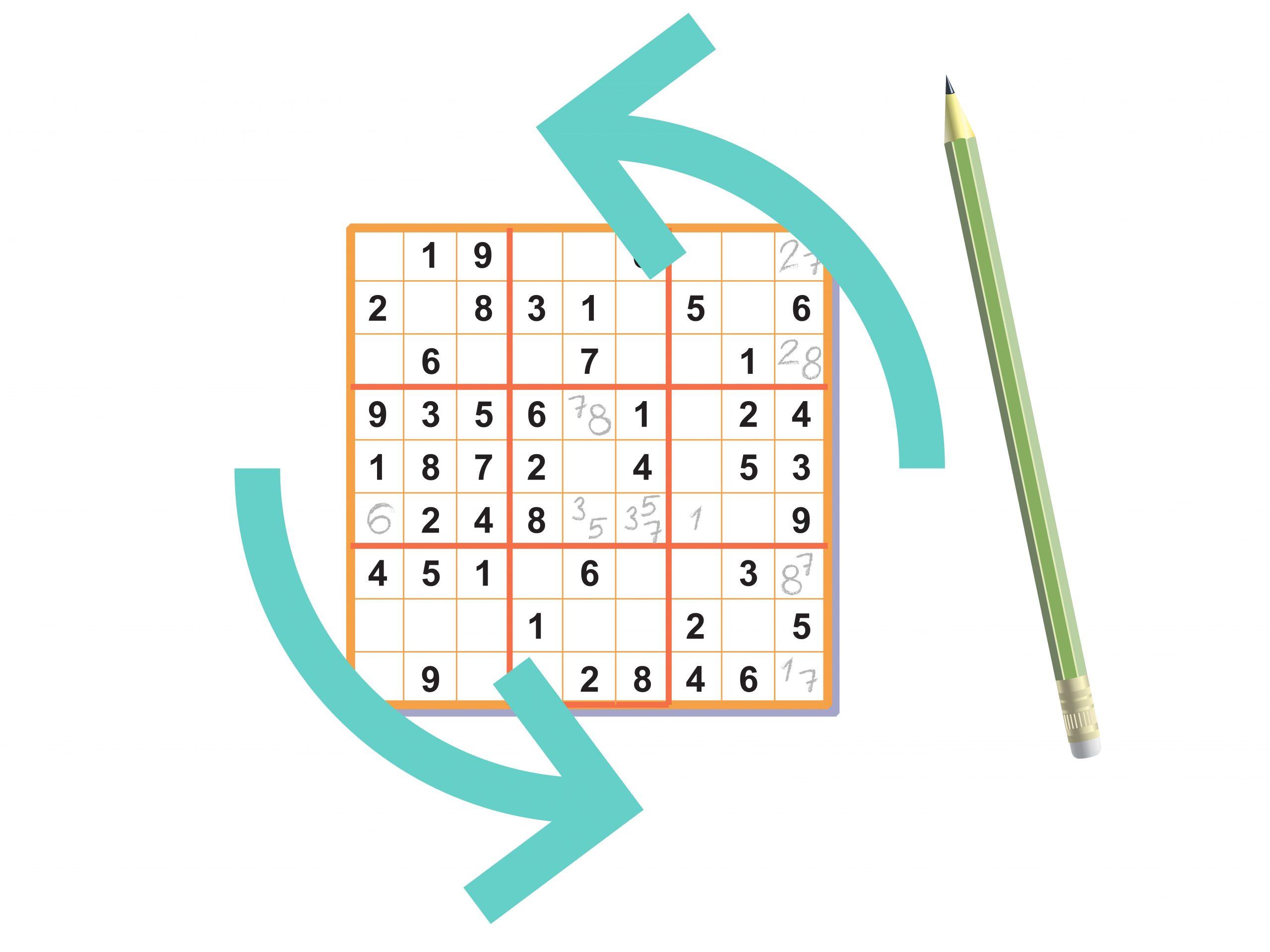 Sudokus Lösen – Wikihow in Sudoku Anleitung