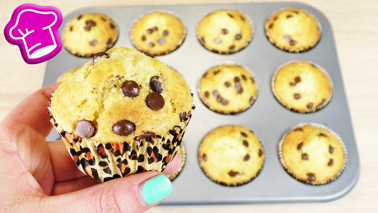 Super Muffin Rezept In 3 Minuten   Grundrezept Für Muffins   Lecker & Easy  Backen Mit Schokostücken ganzes Muffins Rezepte Einfach Schnell Lecker