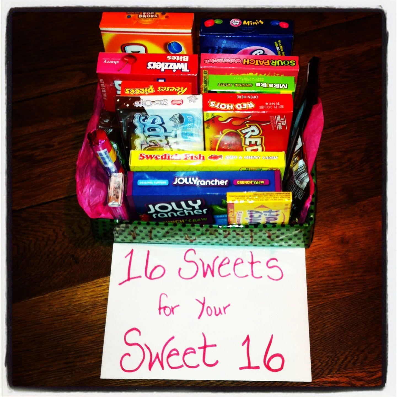 Sweet 16 Gift | Sweet 16 Geschenke, Geschenke Zum 16 bei Geschenke Zum 16 Geburtstag Selber Machen